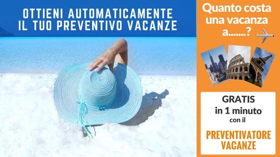 Preventivo vacanze automatico