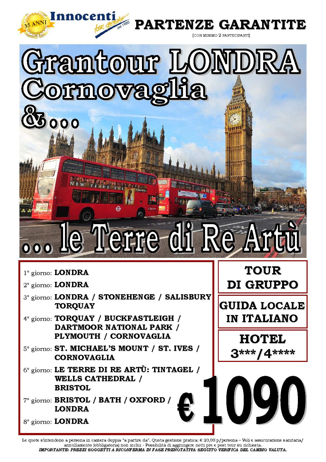 GRAN TOUR LONDRA